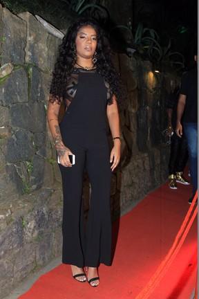 Ludmilla em festa no Rio (Foto: Marcello Sá Barretto/ Ag. News)