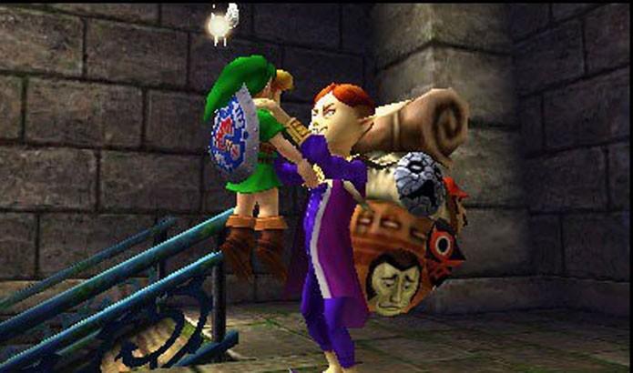 The Legend of Zelda: Majoras Mask 3D (Foto: Divulgação)