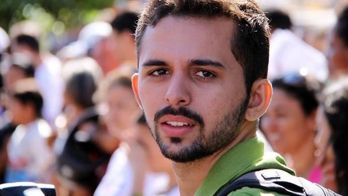 Rafael Chaves, produtor do documentário sobre o Gurupi, a história de um campeão (Foto: Rafael Chaves/ Arquivo Pessoal)