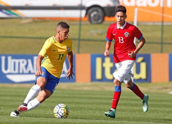 Paulinho - Seleção sub-15 (Foto: Divulgação)