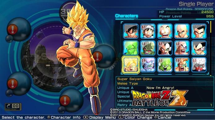 Quanto mais forte um personagem é, menos chance de Retry ele possui (Foto: Reprodução)