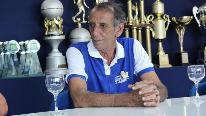 Aderbal Lana técnico Manaus (Foto: Adeilson Albuquerque)