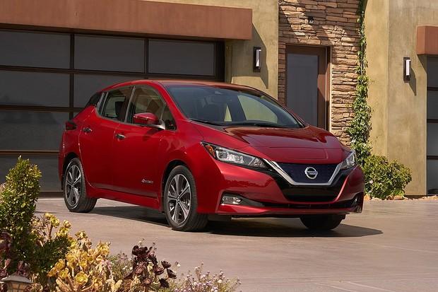 Novo Nissan Leaf  (Foto: Divulgação)