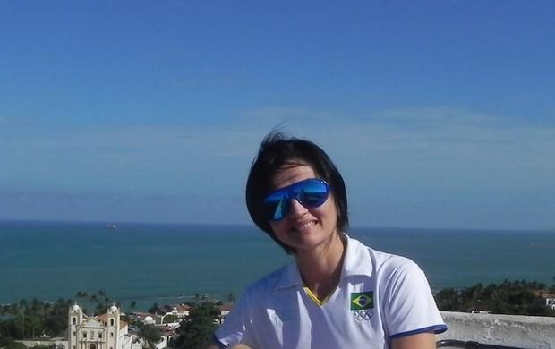 Norma Rodrigues badminton piauí brasil (Foto: Divulgação)