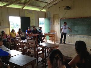 Educação zona rural Acre 2 (Foto: Duaine Rodrigues/G1)