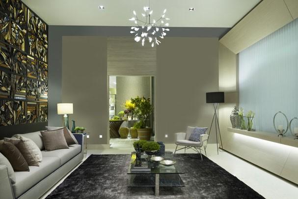 As cores e texturas da decora o em 2016 casa vogue for Pinturas interiores 2016