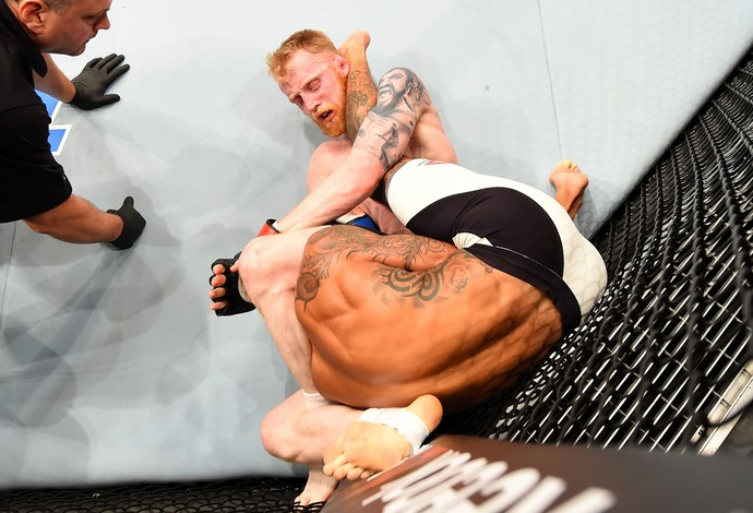 Paddy Holohan Vaughan Lee UFC Glasgow (Foto: Getty Images)
