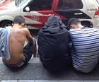 Vítimas são agredidas em arrastão em SP (Mariane Rossi / G1)