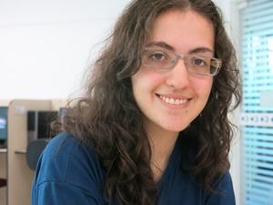 Denise pretende fazer faculdade de engenharia ou física (Foto: Mariane Rossi/G1)