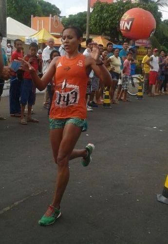 Atleta Risonete dos Santos  (Foto: Risonete dos Santos/ Arquivo Pessoal)