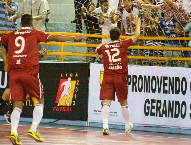 falcão orlândia são bernardo liga futsal (Foto: Márcio Damião/Divulgação)