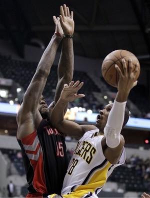 Leandrinho, Indiana Pacers (Foto: AP)