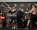 UFC Londres: Werdum ameaça jogar cadeira em Volkov e brinca com altura
