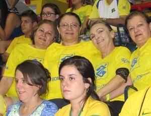 Ceará, Torcida, Amistoso, Brasil, Argentina, Vôlei, Ginásio Paulo Sarasate, Fortaleza (Foto: Juscelino Filho)