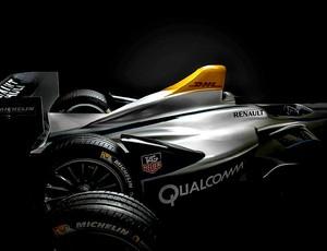 novo carro da Fórmula E (Foto: Divulgação)