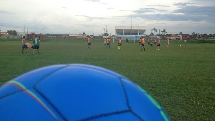 Treino dos jogadores do Guajará (Foto: Dayanne Saldanha)