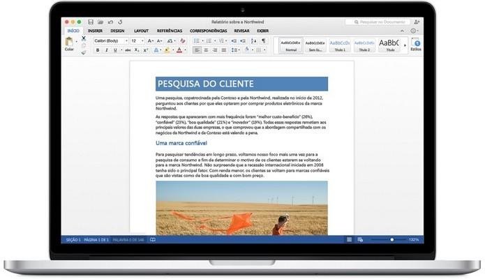 Microsoft responde dúvidas sobre versão preview do Office 2016 para Mac OS X (Foto: Reprodução/Microsoft)
