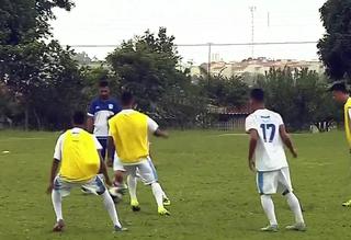 Marília, MAC, treino, Copa SP, Copa São Paulo de Futebol Júnior (Foto: Reprodução / TV TEM)