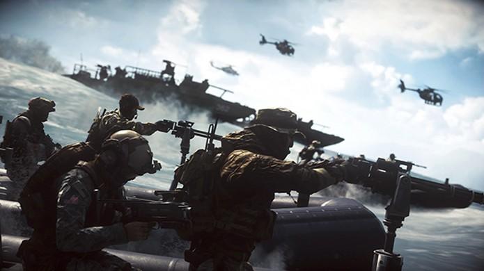 Battlefield 4: Naval Strike traz intensas batalhas marítimas em DLC (Foto: Reprodução/Battlefield Wiki)