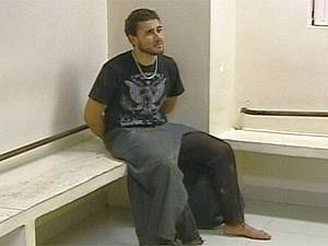 suspeito de matar glauco (Foto: Reprodução/TV Globo)