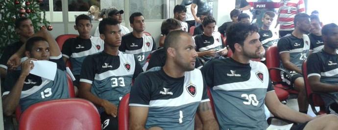 Botafogo-PB faz campanha e jogadores doam sangue (Foto: Divulgação / Botafogo-PB)