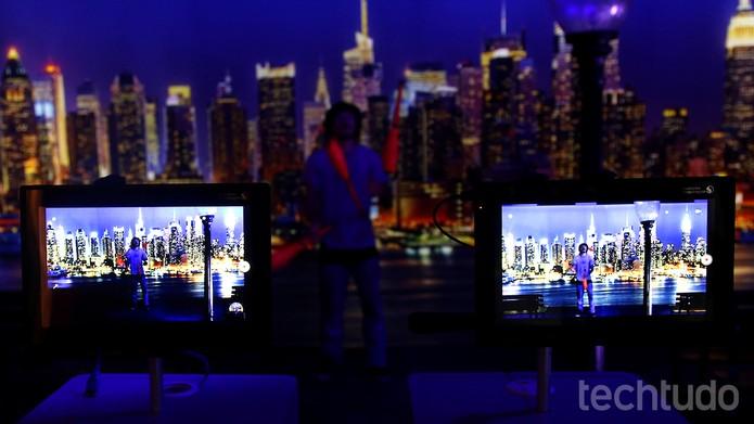 Correção de luz nativa no Snapdragon 820: efeito pode ser visto à direita (Foto: Fabrício Vitorino / TechTudo)