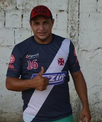 Tonho Cabañas, atacante do Vasco-Ac (Foto: Nathacha Albuquerque)