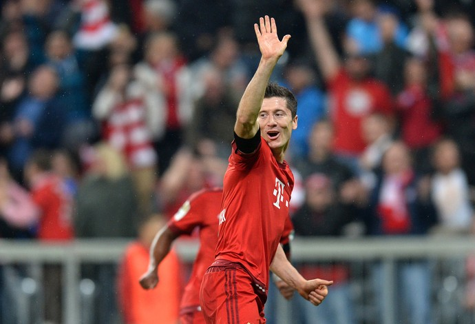 Lewandowski Bayern de Munique (Foto: AFP)