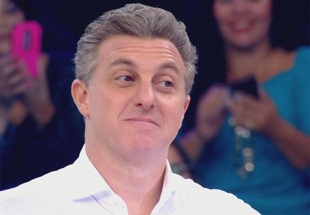 O apresentador e empresário Luciano Huck (Foto: TV Globo)