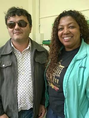 Fludualdo e Orneídes E. M. Cosette de Alencar Juiz de Fora (Foto: Roberta Oliveira/ G1)