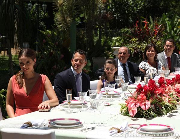 Os convidados do casamento (Foto: Jacson Vogel / Amor à Vida)