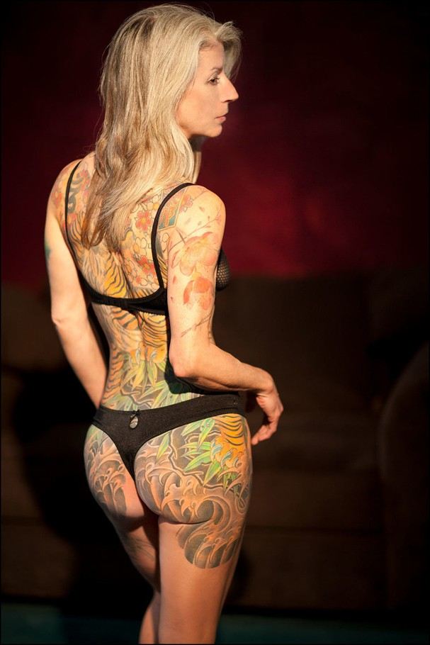 Julie H, mais conhecida na internet como Burning Lotus (Foto: Reprodução/Tumblr)