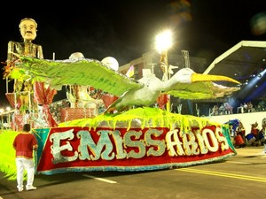 Escola desfila no dia 28 de fevereiro no Sambódromo (Foto: Arquivo/Emissários da Cegonha)