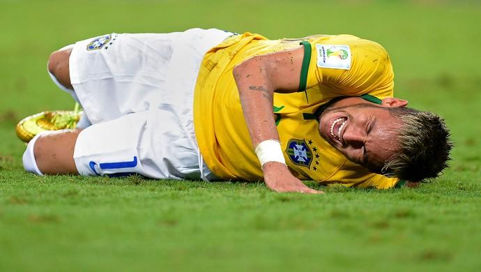Neymar - brasil x colômbia  (Foto: Getty Images)