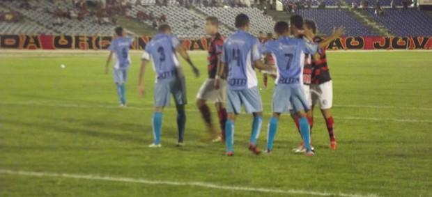 Campinense 1 x 1 Santa Cruz, no Estádio Amigão (pela 7ª rodada da 2ª fase da Campeonato Paraibano 2013) (Foto: Silas Batista / Globoesporte.com/pb)