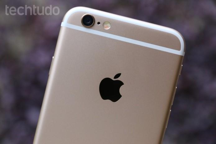Detalhes do design do iPhone 6 (Foto: Lucas Mendes/TechTudo)