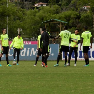 Treino Atlético Nacional de Medellín (Foto: Leonardo Lourenço)