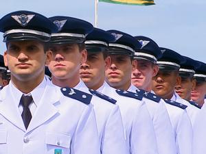 194 formandos participaram da cerimônia em Pirassununga (Foto: Reginaldo dos Santos / EPTV)