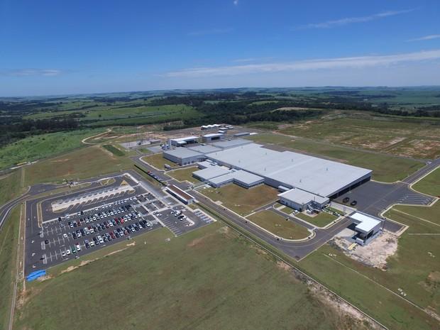 Fábrica de motores da Toyota em Porto Feliz (SP) (Foto: Divulgação)