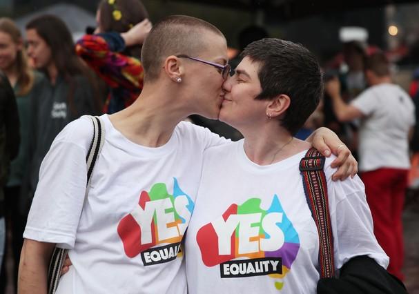 Parlamento Australiano aprova casamento entre pessoas do mesmo sexo (Foto: Getty Images)