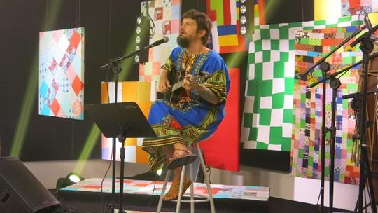 Saulo diz ao Gshow que a Tropicália mudou sua vida