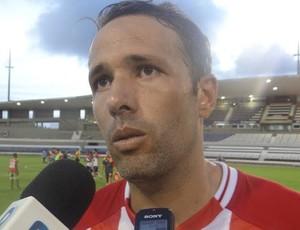 Gabriel, zagueiro do CRB (Foto: Denison Roma/GloboEsporte.com)
