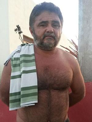 Ivamar Paiva Barreto foi preso na praia de Muriú, litoral Norte potiguar (Foto: Divulgação/Polícia Civil)