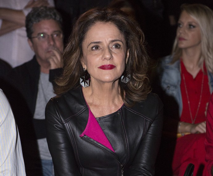 Fanny também marcou presença (Foto: Felipe Monteiro/ Gshow)