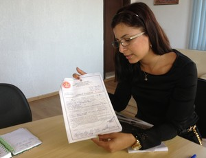 Secretária da Secel, Eluane Martins (Foto: Hugo Crippa)