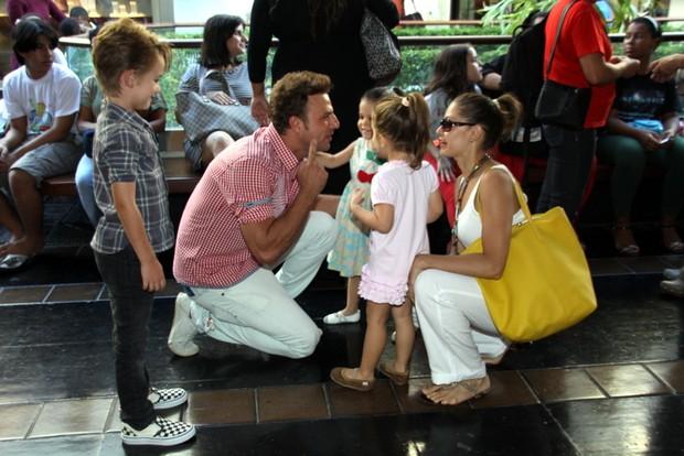 Cassio Reis e Bianca Rinaldi (Foto: Graça Paes/Fotorio News)