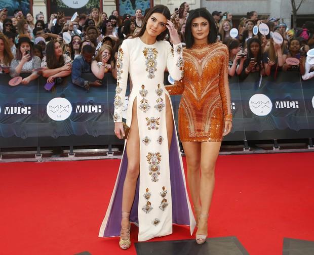 Kendall Jenner e Kylie Jenner (Foto: Reuters)
