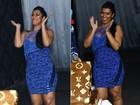 Moranguinho justifica peso extra na festa de Naldo: 'Engordei  5kg'