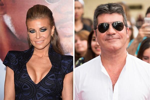 Após serem fotografados juntos em 2012, Simon Cowell assumiu que estaria saindo com Carmen Electra, mas garantiu que eles não eram exclusivos. Alguns poucos meses depois, os dois não estavam mais juntos. (Foto: Getty Images)