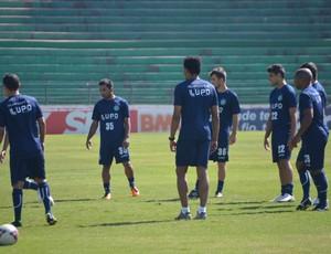 Guarani treina no Brinco de Ouro (Foto: Murilo Borges / Globoesporte.com)